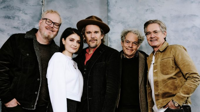 'Tesla' director Michael Almereyda with stars