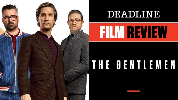 [WATCH] 'The Gentlemen' Review: Matthew McConaughey,