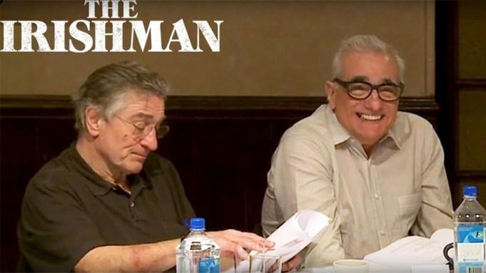 [WATCH] 'The Irishman': 2013 Table Read