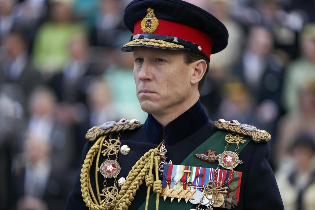 Tobias Menzies, The Crown