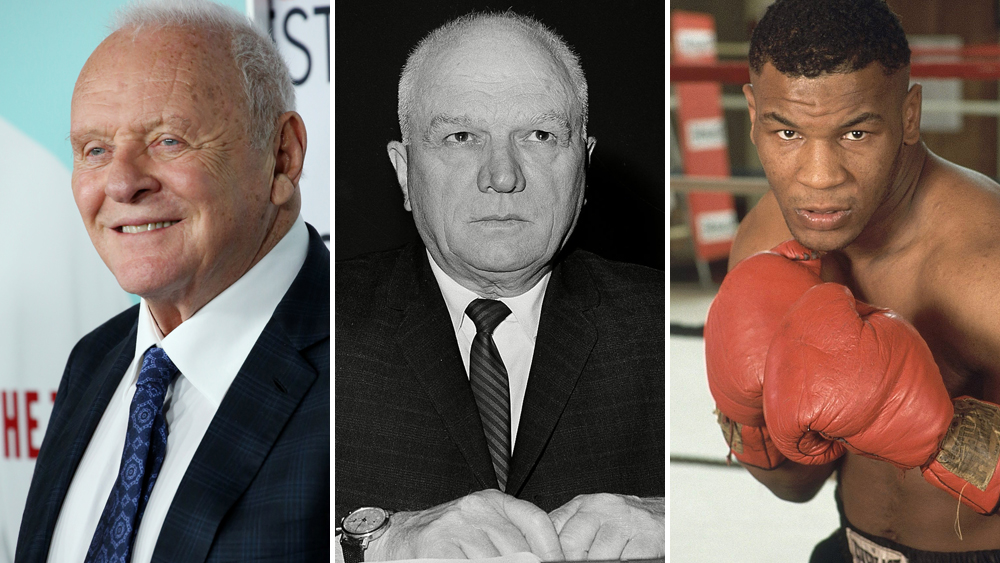 Anthony Hopkins Cus D'Amato Mike Tyson
