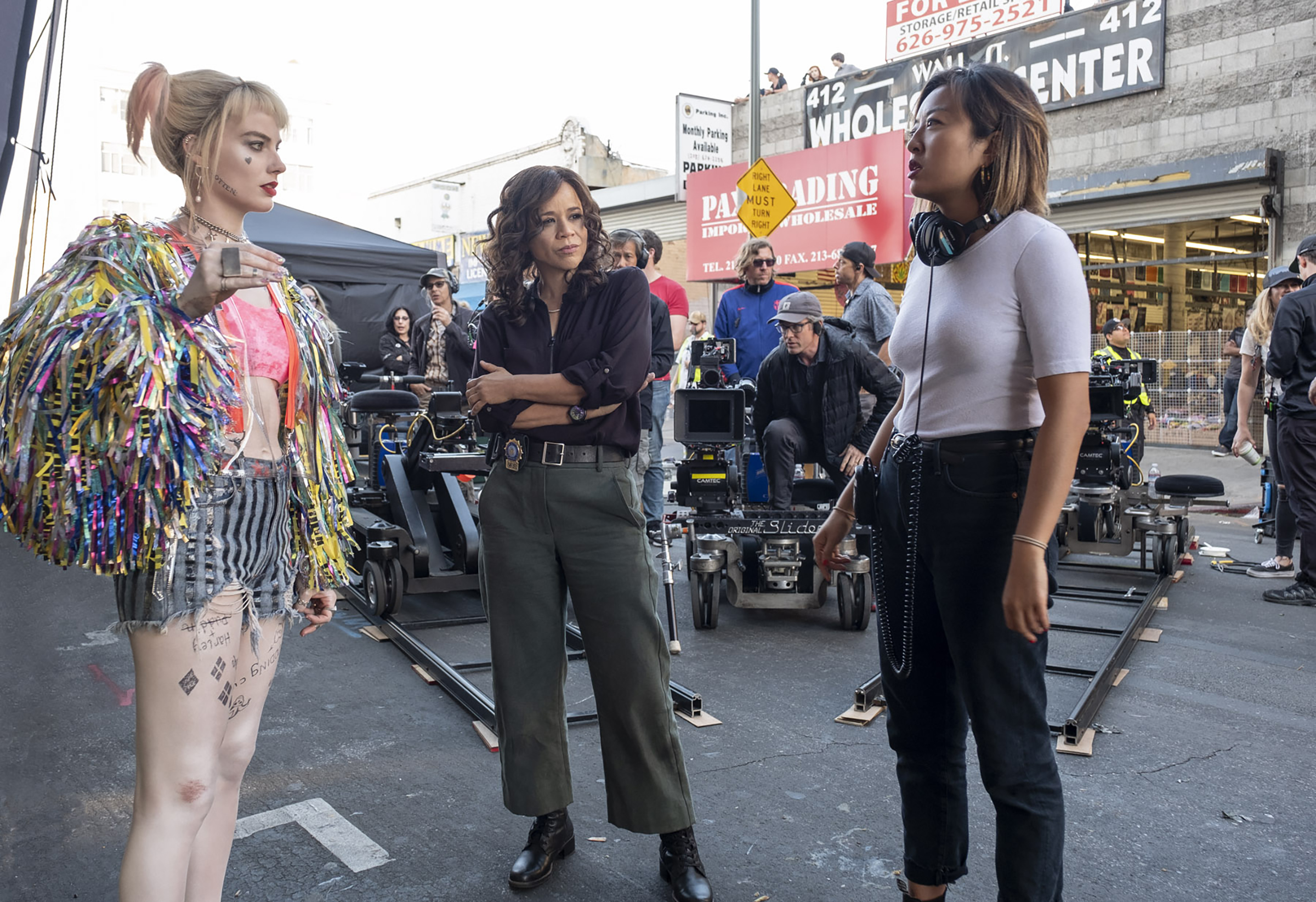 Birds Of Prey Director Cathy Yan On The Risky Ball Busting Glory Of Harley Quinn Deadline