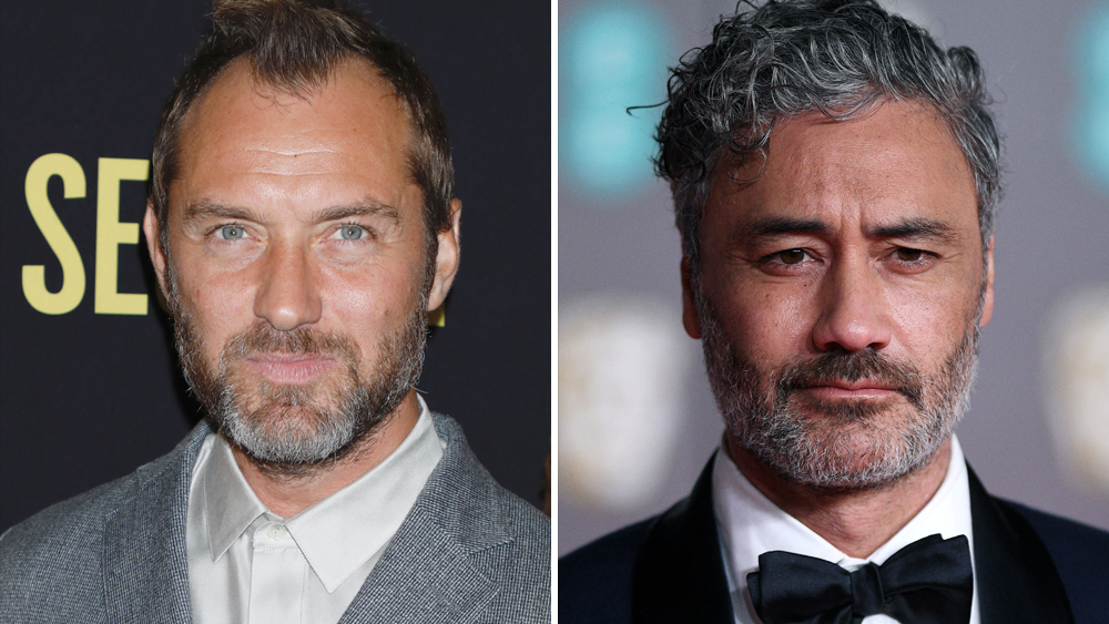 Jude Law Taika Waititi Team On The Auteur Limited Series Eyed At Showtime Deadline