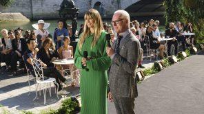 Heidi Klum and Tim Gunn in 'Making the Cut'