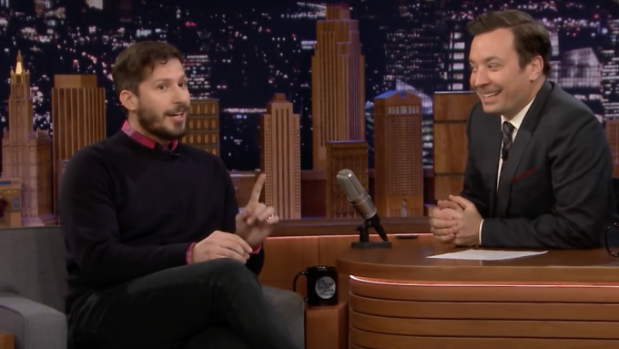 Andy Samberg Talks How Record-Breaking 'Palm