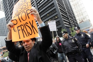 Stop and Frisk protest