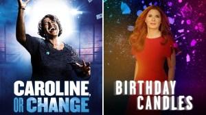 Caroline Or Change Birthday Candles
