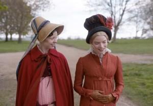 Mia Goth and Anya Taylor-Joy in 'Emma'