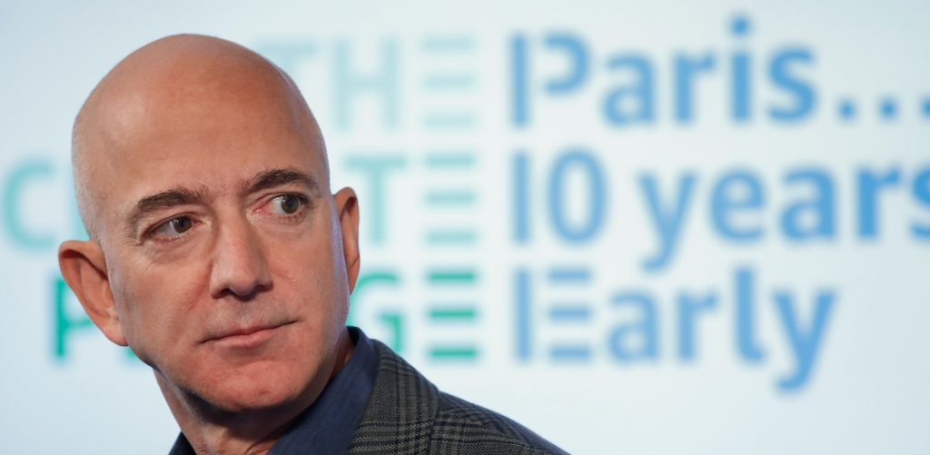Jeff Bezos' Networth Hits All-Time Record High With Expected Amazon Pentagon Contract, Leaving Elon Musk In The Dust