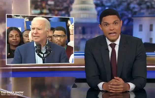 Trevor Noah Confused By Joe Biden Gaffes This Is Not Good Deadline