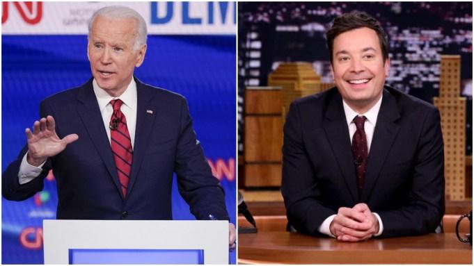 """Joe Biden Lauds """"Courageous"""" First Responders"""