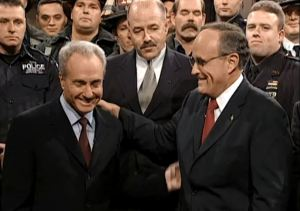 Rudy Giuliani Lorne Michaels SNL