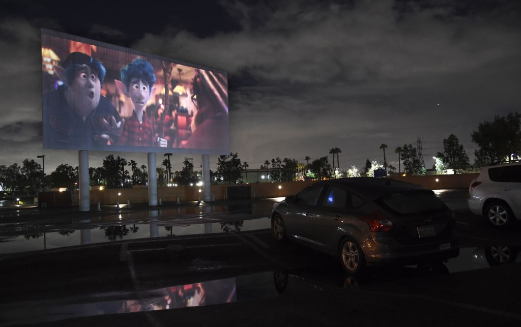 Drive-In Theater, Paramount, CA