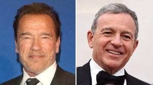 Arnold Schwarzenegger Bob Iger