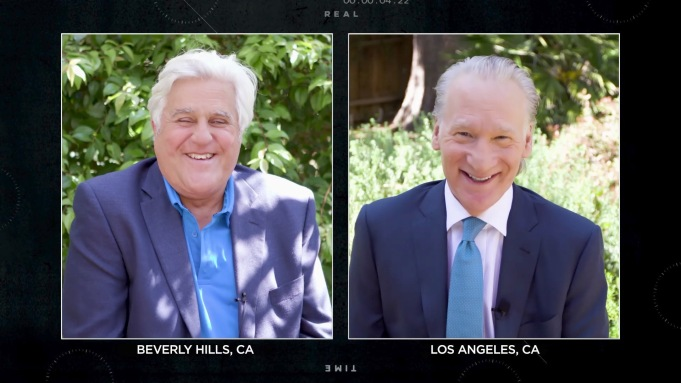 Coronavirus Joking Jay Leno & Bill