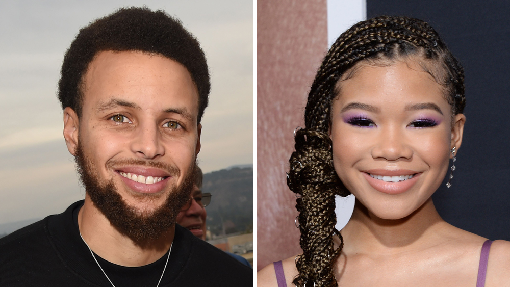 Stephen Curry And Storm Reid Team For Female Athlete Series Bamazing Deadline