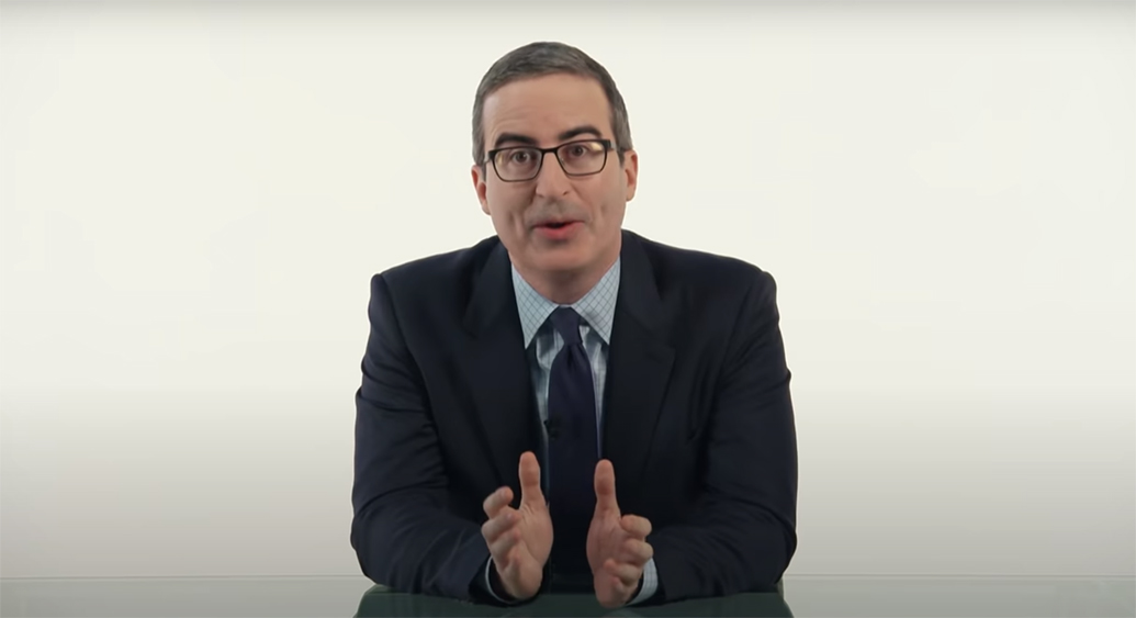 "'Last Week Tonight': John Oliver Talks Hunter Biden's ""Laptop From Hell"", Rudy Giuliani's 'Borat' Cameo And Low Bar For Trump's ""Best Behavior"""