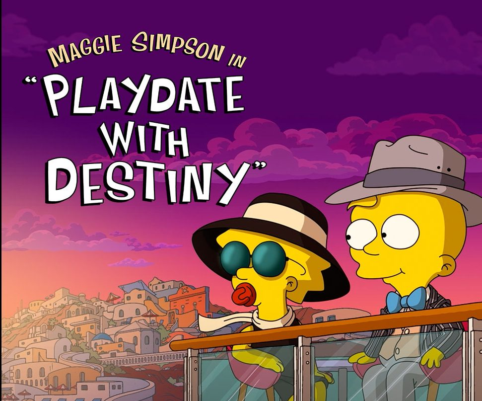 Maggie Simpson Returns In Animated Playdate With Destiny For Disney Deadline