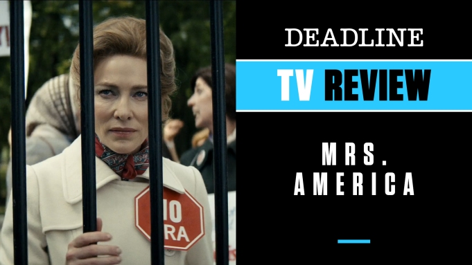 [WATCH] 'Mrs. America' Review: Cate Blanchett