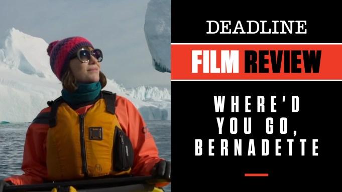 [WATCH] 'Where'd You Go, Bernadette' Review: