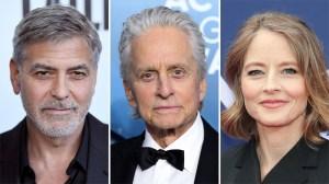 George Clooney Michael Douglas Jodie Foster