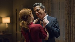 Jane Levy and Peter Gallagher in 'Zoey's Extraordinary Playlist'
