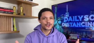 Trevor Noah and the Daily Social Distancing Show Explore The Presidential Pardon Game