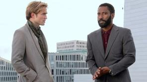 Robert Pattinson and John David Washington in 'Tenet'