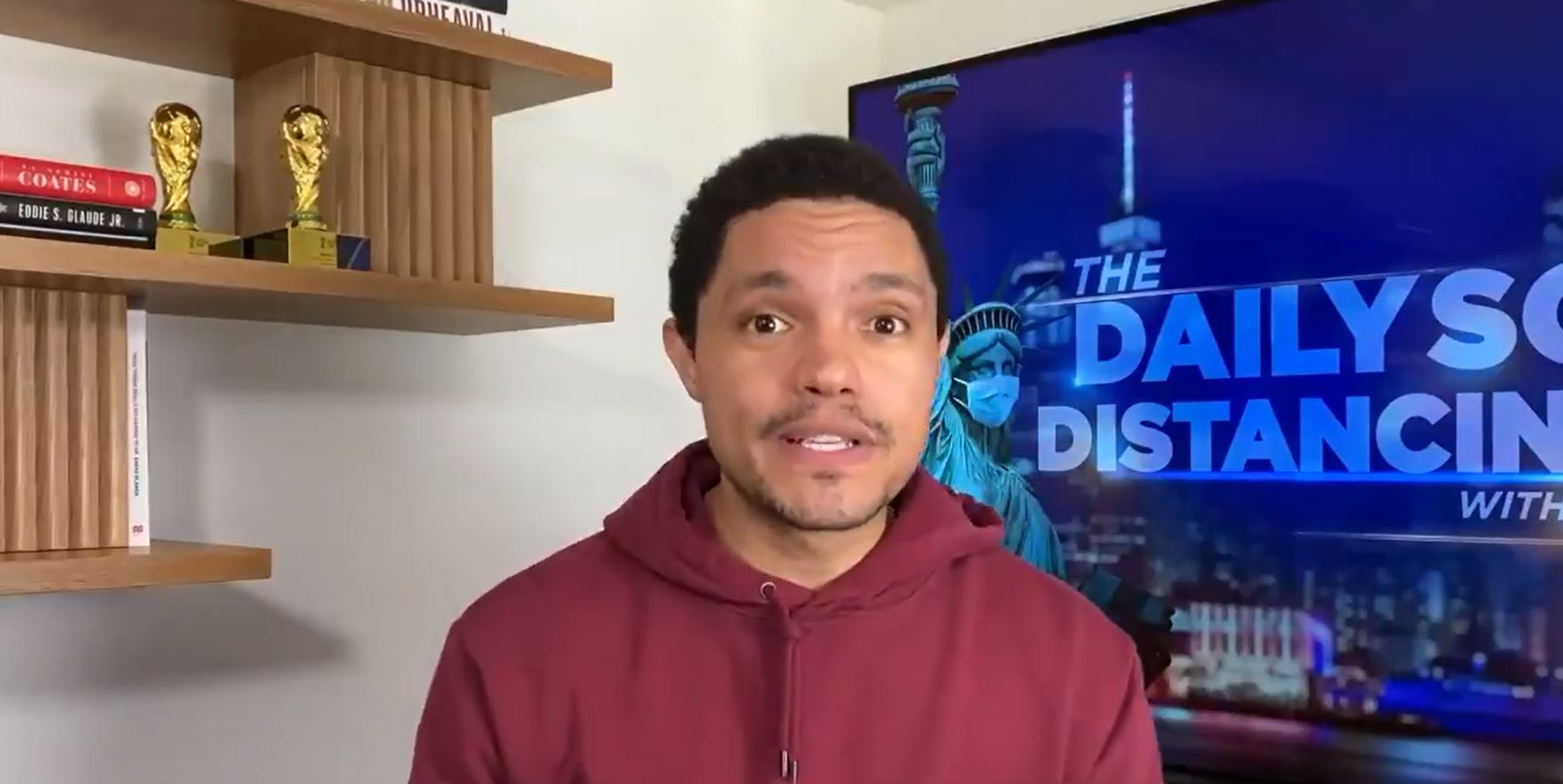 Trevor Noah On Joe Biden's First Day, And Why He'll Rip Your Nipples Off
