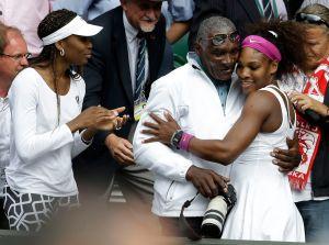 Serena williams venus williams wimbledon richard williams
