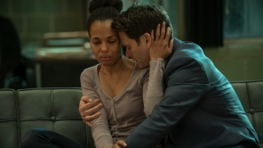Kerry Washington and Steven Pasquale in 'American Son'