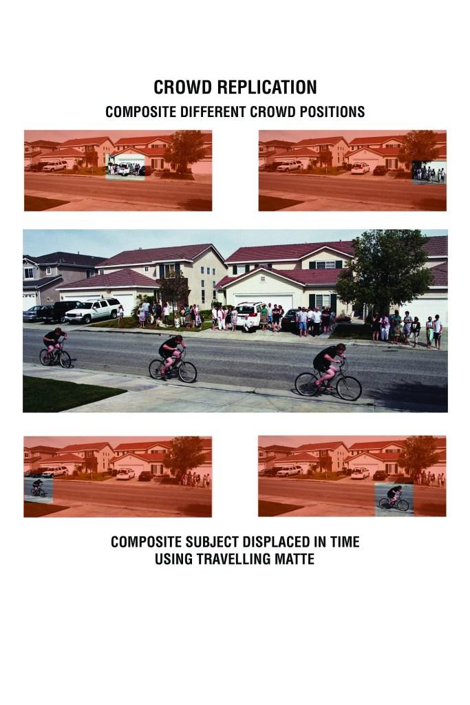 VFX crowd replication