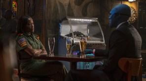 Yahya Abdul-Mateen II and Regina King in 'Watchmen'