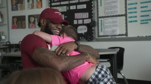 LeBron James in 'I Promise'