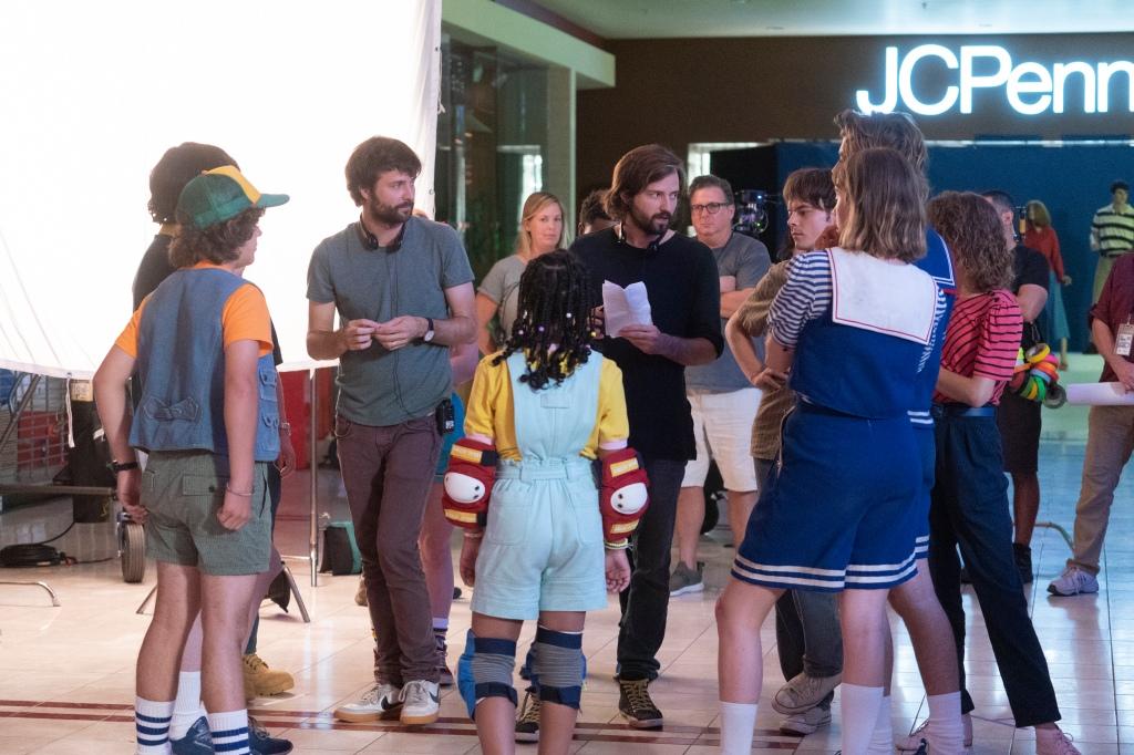 Behind the scenes of 'Stranger Things'