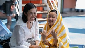 Angela Lin and Madeleine Chang in 'Little America'