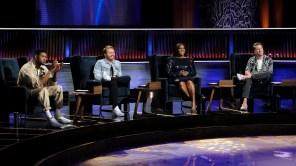 Usher, Shane McAnally, Ester Dean and Ryan Tedder in 'Songland'