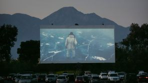 Drive-in Movie Theater Reopens in Montclair CA