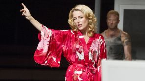 Gillian Anderson and Ben Foster in 'A Streetcar Named Desire'