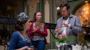 Dan Palladino directing on 'Marvelous Mrs. Maisel'