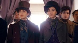 Hailee Steinfeld and Ella Hunt in 'Dickinson'