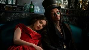 Hailee Steinfeld and Wiz Khalifa in 'Dickinson'