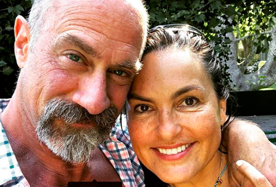 'Law & Order: SVU' Stars Mariska Hargitay And Chris Meloni Do An Instagram Fan Tease