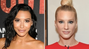 Naya Rivera Heather Morris