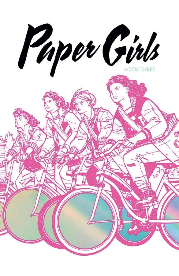 paper girls deluxe edition book three hc a9322a24ec