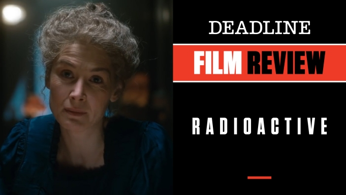 [WATCH]'Radioactive' Review: Rosamund Pike Luminous In