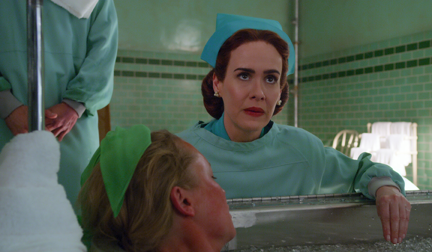 Sarah Paulson On Playing Impeachment Ratched Golden Globe Nominations Deadline