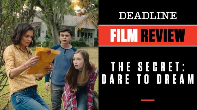 [WATCH] 'The Secret: Dare To Dream'
