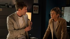 Mark Duplass and Jennifer Aniston in 'The Morning Show'