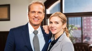 Patrick Fabian and Rhea Seehorn in 'Better Call Saul Employee Training'